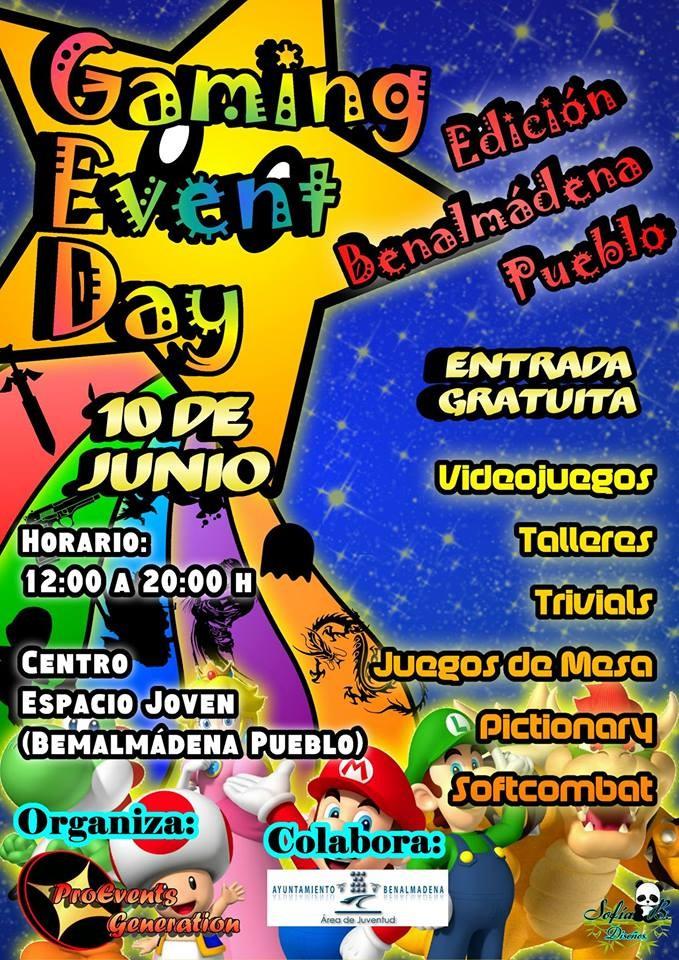 Gaming Event Day - Benalmádena Pueblo