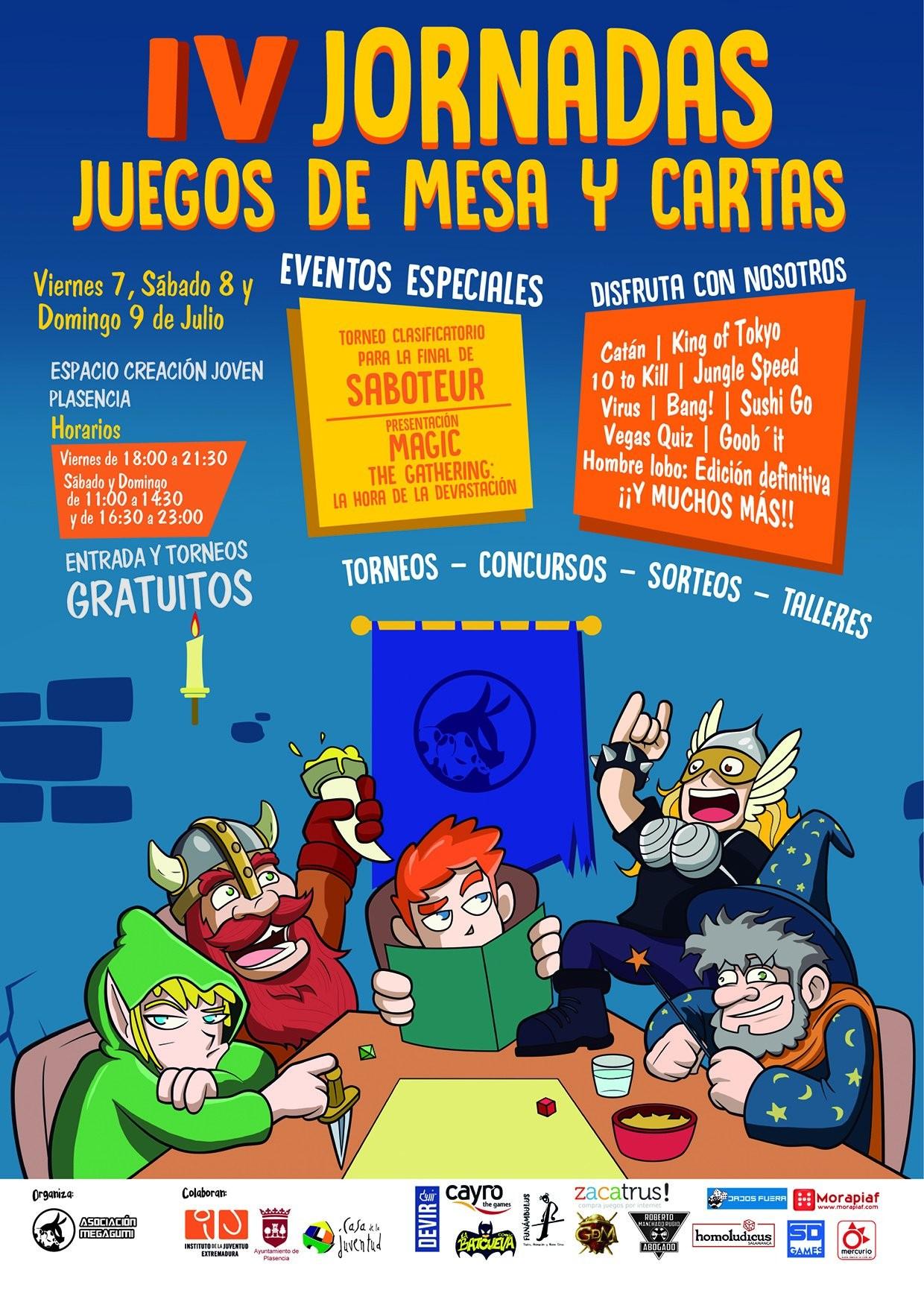 IV Jornadas de juegos de mesa y cartas Megagumi