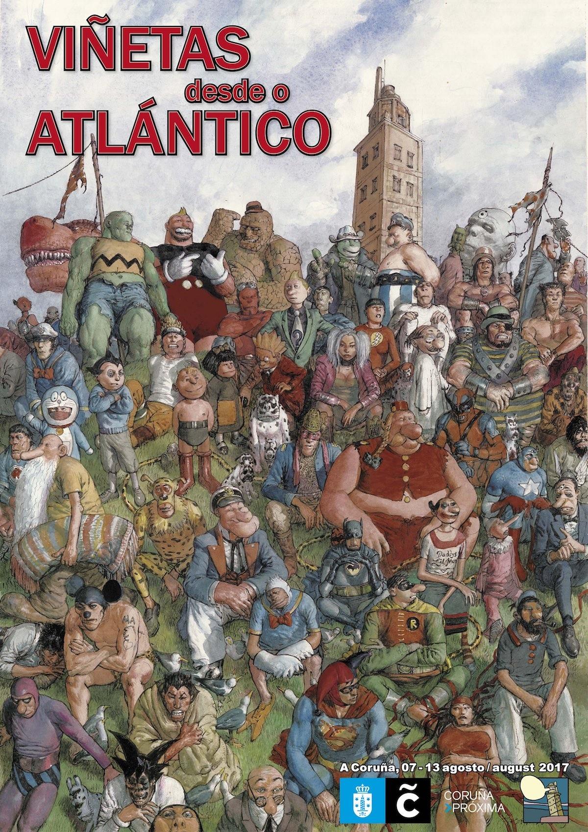 Viñetas desde O Atlántico - A Coruña