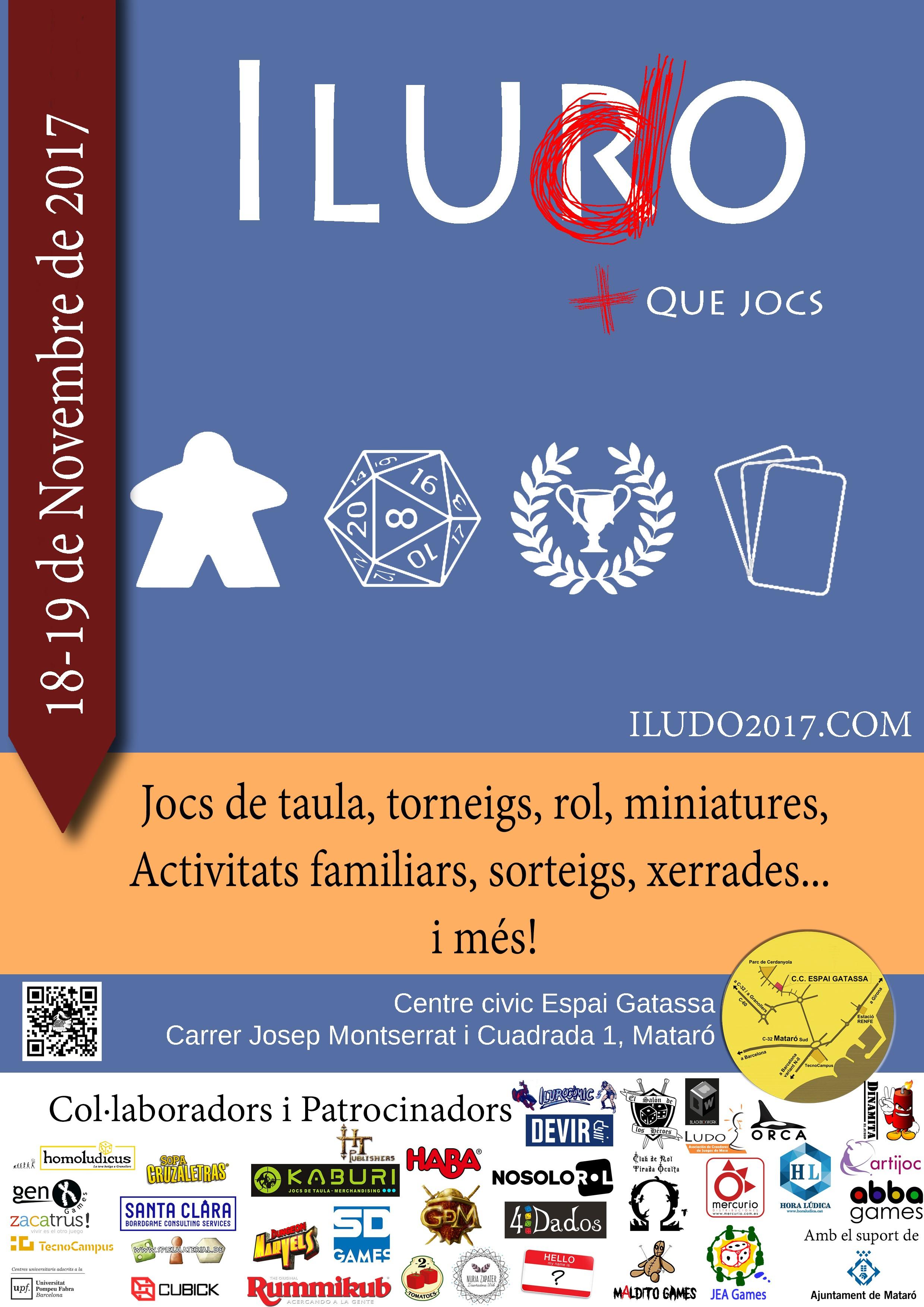 ILUDO + QUE JOCS