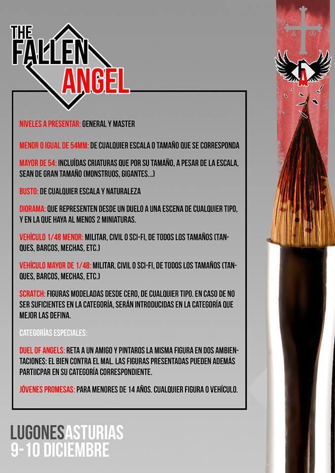 The Fallen Angel - Exposición de pintura de miniaturas