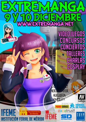 Extremanga en Mérida