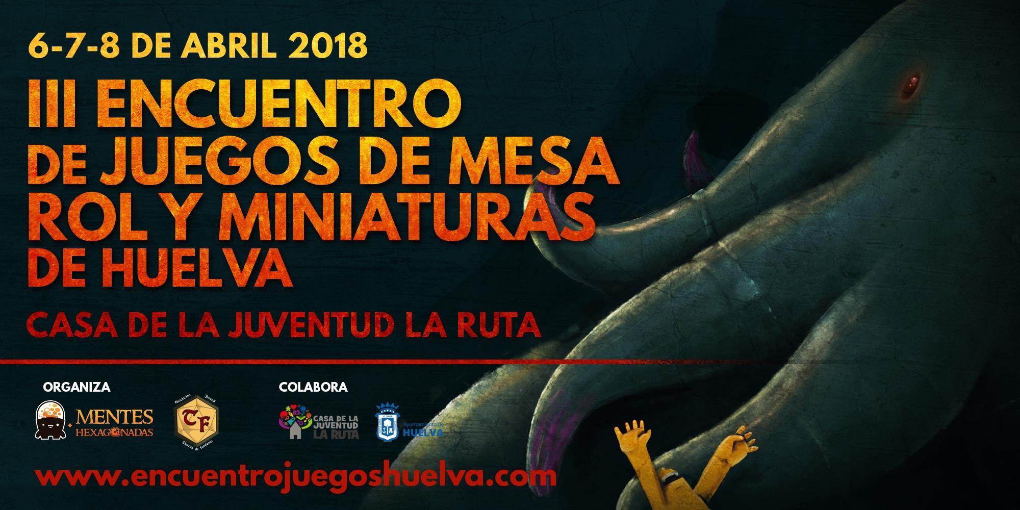 Jornadas de Juegos de Mesa, Rol y Miniaturas de Huelva