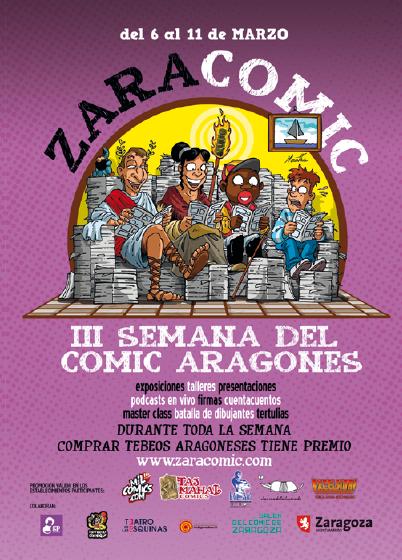 Zaracómic en Zaragoza