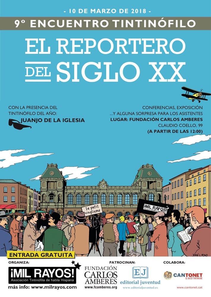 Encuentro Tintinófilo en Madrid