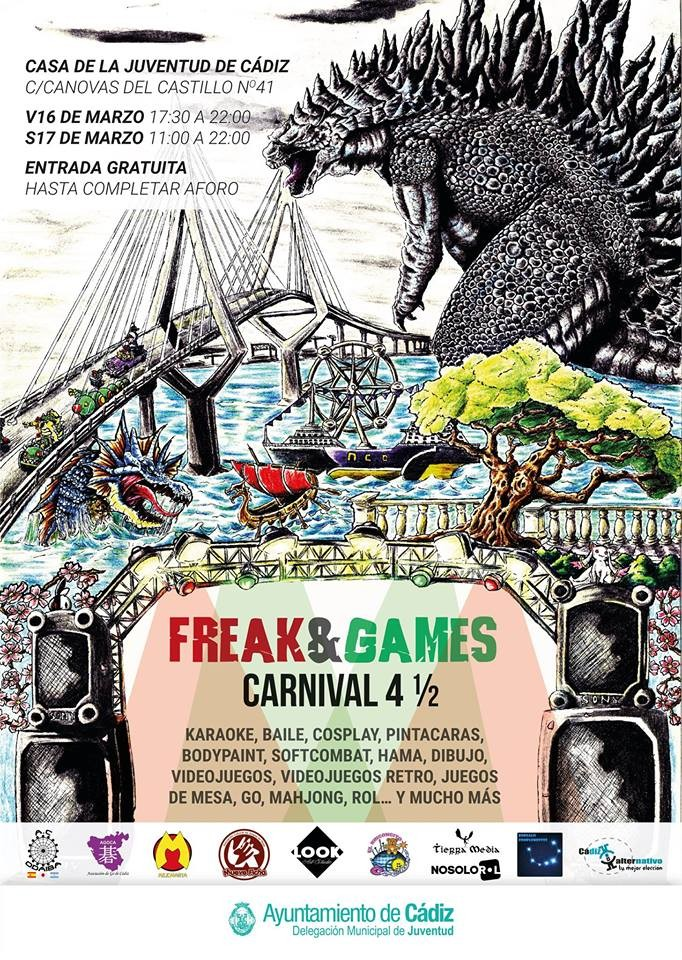 Freak & Games Carnival 4 1/2