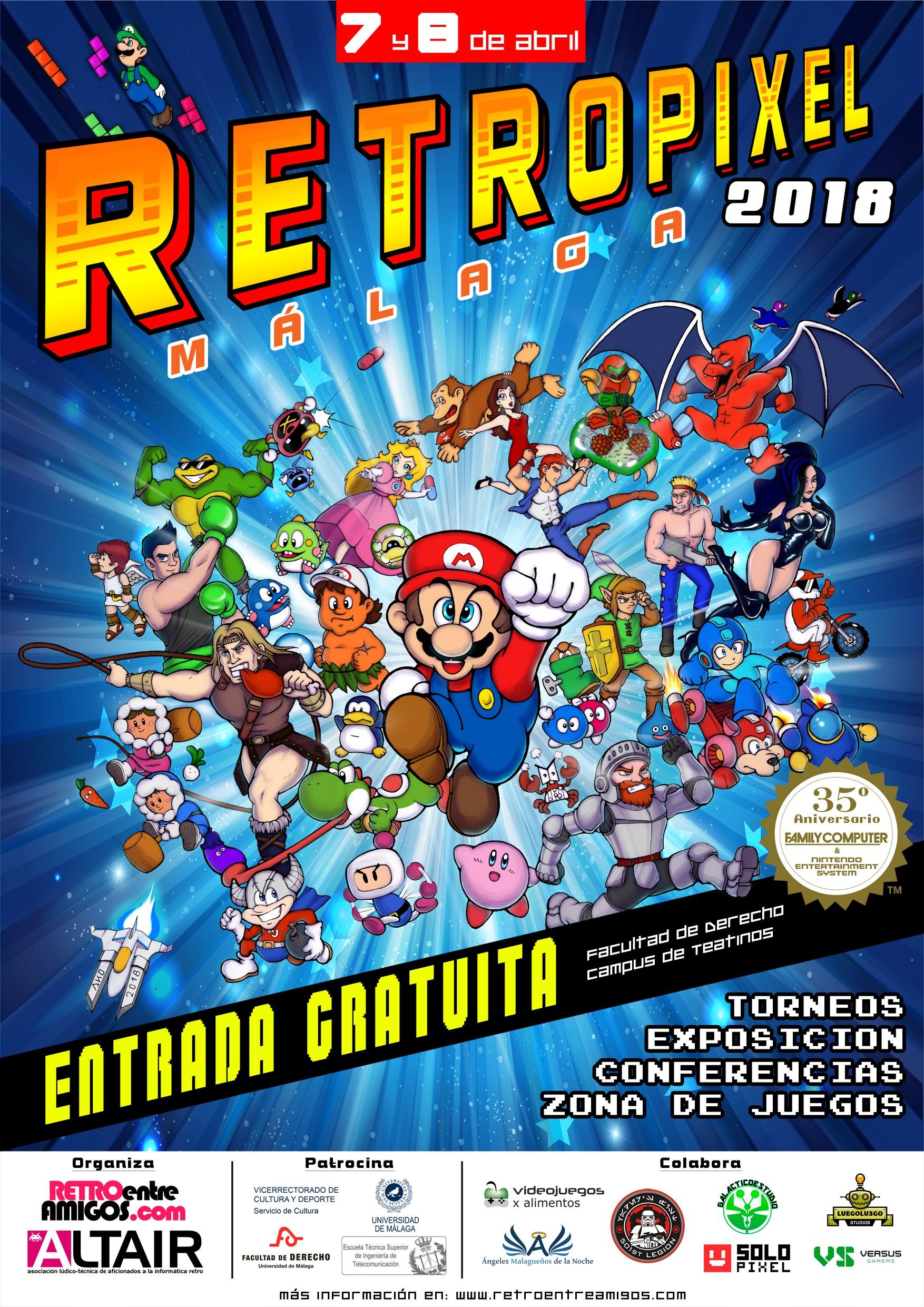 RetroPíxel 2018 Málaga