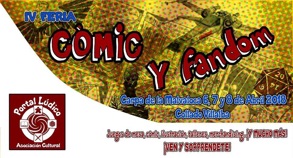 IV Feria del Cómic y Fandom